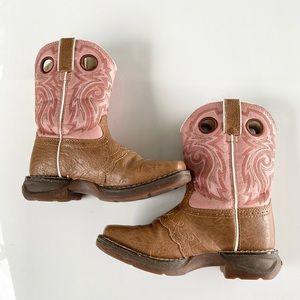 Durango Western Cowboy Boots Kids 12m